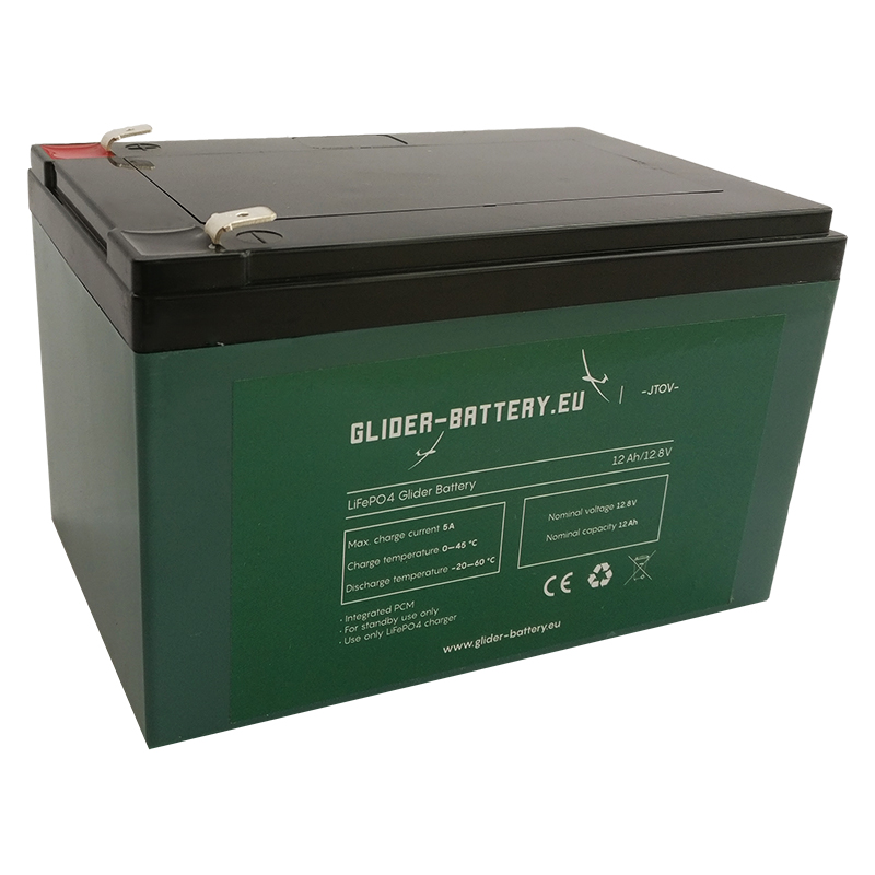 Glider Battery LiFePO4, 12AH